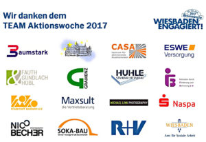TEAM Aktionswoche; Logos