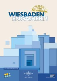 Aktionswoche Wiesbaden Engagiert! 2018 Plakat Amt für Soziale Arbeit Wiesbaden CC-Servicebüro CC CSR