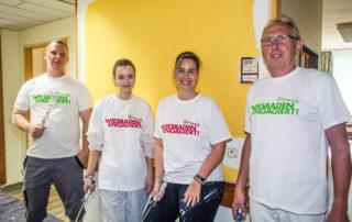 """003 """"Wiesbaden Engagiert!"""" Aktionswoche 2017 AltenHilfe Wiesbaden Toni-Sender-Haus Heico Group Foto: Tim Voigt"""