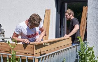 """008 Aktionswoche """"Wiesbaden Engagiert!"""" 2017 ASB Tagespflege für Senioren Blumen Bleker Schreinerei Gerd Michel"""
