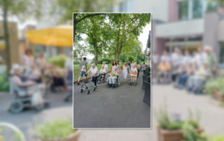 "Aktionswoche ""Wiesbaden Engagiert!"" 2017 Caritas Altenwohn- und Pflegegesellschaft mbH Haus Sankt Hedwig HUMAN"