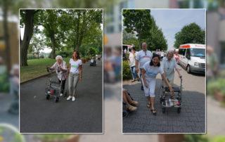 "Aktionswoche ""Wiesbaden Engagiert!"" 2017 Caritas Altenwohn- und Pflegegesellschaft mbH Haus Sankt Hedwig HUMAN Foto: HUMAN"