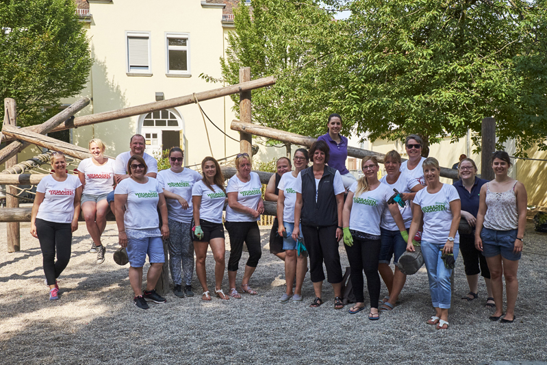 "026 Aktionswoche ""Wiesbaden Engagiert!"" 2017 Carlo-Mierendorff-Schule SOKA-BAU Foto: Mathias Csader"