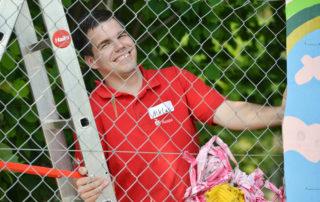 """029 Aktionswoche """"Wiesbaden Engagiert!"""" 2017 CASA e.V. Nassauische Sparkasse Naspa sports up Detektei Adler"""