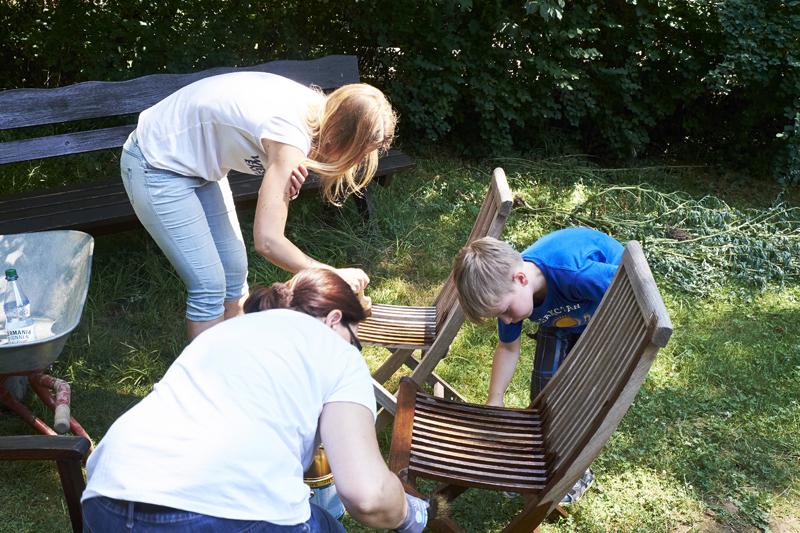"032 Cyperus 1901 e.V. Aktionswoche ""Wiesbaden Engagiert!"" 2017 Amt für Soziale Arbeit Abteilung Jugendarbeit wi&you Naturpark"