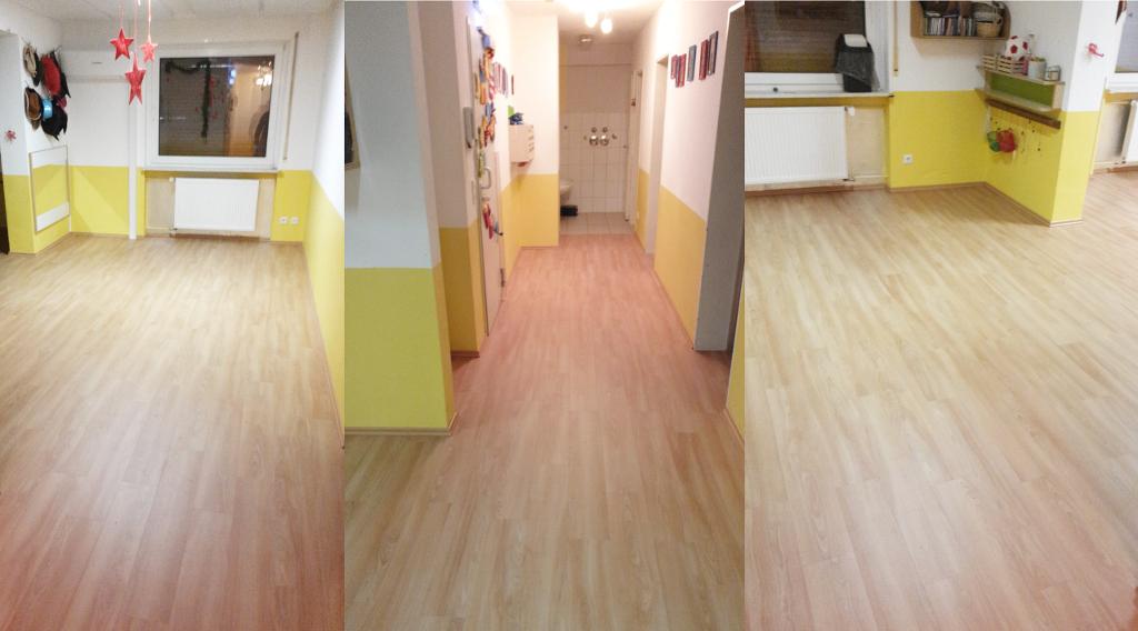 Fußbodenbelag Kita ~ Neuer fußbodenbelag für die krippe aktionswoche wiesbaden engagiert