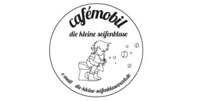 Kaffeemobil die kleine seifenblase logo