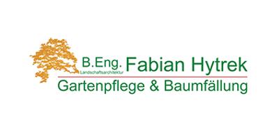 hytrek gartenpflege baumfaellung logo