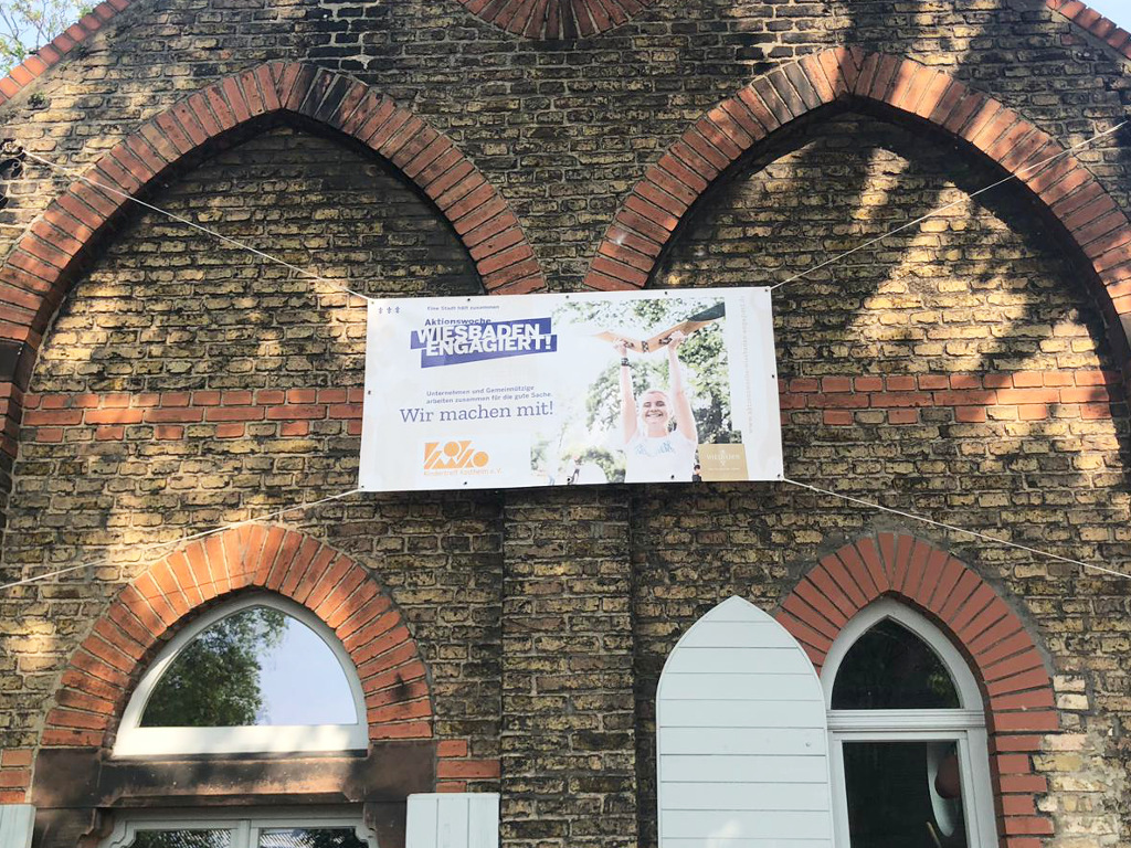 wea 2019 engagement zeigen banner kiko kindertreff kostheim