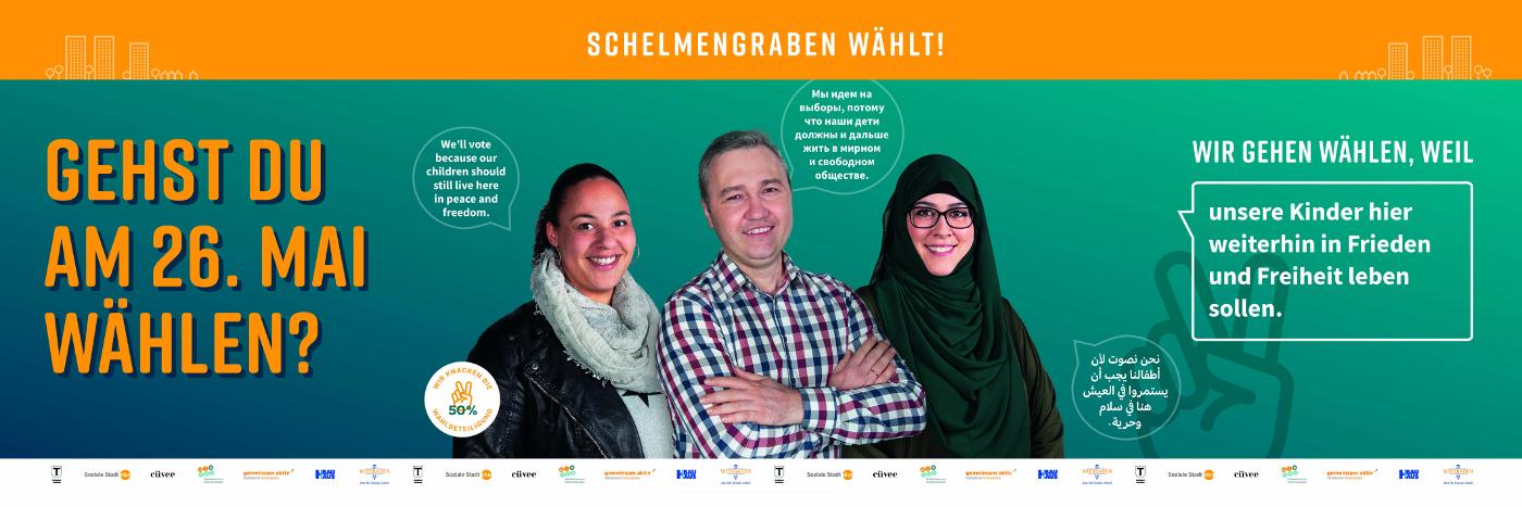 014 BauHaus 190503 Schelmengraben Banner Eltern lr
